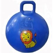 Мяч-попрыгун детский c ручкой Libera 60 см (синий)