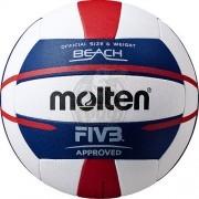 Мяч для пляжного волейбола профессиональный Molten V5B5000 FIVB