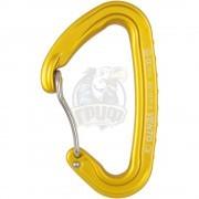 Карабин Vento Скалолазный Лайт со скобой (желтый)