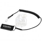 Шнур Vento спиралевидный привязной с карабином и липучкой