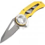 Нож складной Vento Стропорез (желтый)
