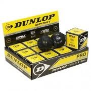 Мяч профессиональный для сквоша Dunlop Pro (12 мячей в коробке)