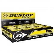 Мяч профессиональный для сквоша Dunlop White Pro (12 мячей в коробке)