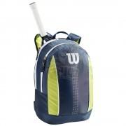 Рюкзак теннисный Wilson Junior (синий/салатовый)