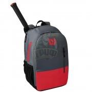 Рюкзак теннисный Wilson Team (серый/красный)