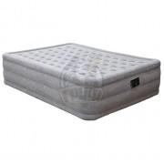 Матрас-кровать надувная полутораспальная + электронасос Intex Comfort Plush AirBed