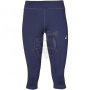 Тайтсы спортивные женские Asics Silver Knee Tight (синий)