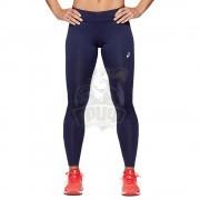 Тайтсы спортивные женские Asics Silver Tight (темно-синий)
