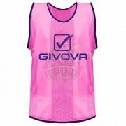 Манишка тренировочная Givova Casacca Pro Allenamento (розовый)