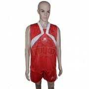 Форма баскетбольная Kappa (красный/белый)