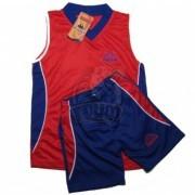 Форма баскетбольная детская Kappa (красный/синий)