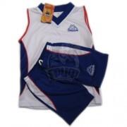 Форма баскетбольная детская Kappa (белый/синий)