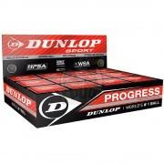 Мяч любительский для сквоша Dunlop Progress (12 мячей в коробке)