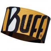 Повязка головная Buff CoolNet UV+ Headband Ultimate Logo Black (черный/желтый)
