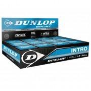 Мяч любительский для сквоша Dunlop Intro (12 мячей в коробке)