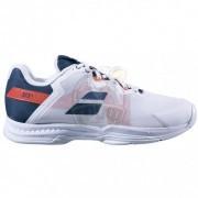 Кроссовки теннисные мужские Babolat Sfx3 AC (белый/синий)