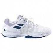 Кроссовки теннисные мужские Babolat Pulsion AC (белый/синий)