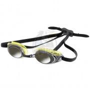 Очки для плавания тренировочные Aquafeel Glide Mirror (серебристый/салатовый)