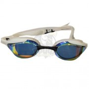 Очки для плавания стартовые Aquafeel Leader Mirrored (белый/синий)