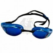 Очки для плавания стартовые Aquafeel Leader Mirrored (черный/синий)
