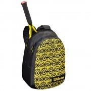 Рюкзак теннисный Wilson Minions Junior (черный/желтый)