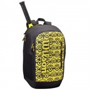 Рюкзак теннисный Wilson Minions Tour (черный/желтый)