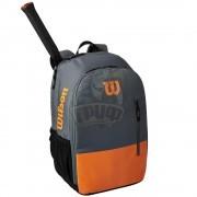 Рюкзак теннисный Wilson Team (оранжевый/серый)