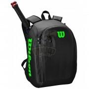 Рюкзак теннисный Wilson Tour (черный/зеленый)