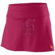 Юбка спортивная для девочек Wilson Competition 11 Skirt Girl (розовый)