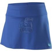 Юбка спортивная для девочек Wilson Competition 11 Skirt Girl (синий)