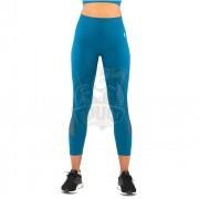 Тайтсы спортивные женские Fifty Essential Knit (синий)