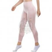 Тайтсы спортивные женские Fifty Heartlet (розовый)