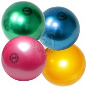Мяч для художественной гимнастики Effea 190 мм (желтый)