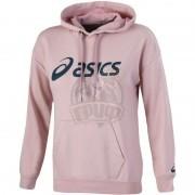 Толстовка спортивная женская Asics Big Oth Hoodie (розовый)