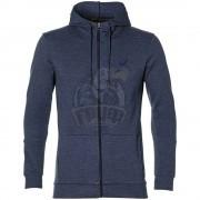 Толстовка спортивная мужская Asics Tailored Fz Hoody (синий)