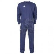Костюм спортивный мужской Asics Knitted Suit Long (синий)