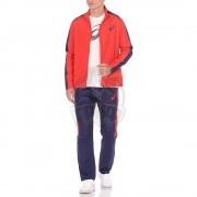 Костюм спортивный мужской Asics Lined Suit (красный/синий)