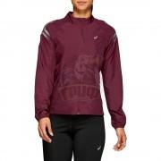 Куртка спортивная женская Asics Icon Jacket (бордовый)