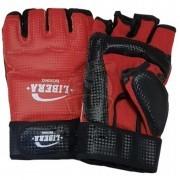 Перчатки тхэквондо Libera ПВХ (красный)