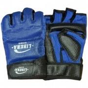 Перчатки тхэквондо Libera ПВХ (синий)