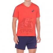 Форма волейбольная мужская Asics Volley Set (красный/синий)