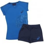 Форма волейбольная женская Asics Volley Set (синий)