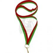 Ленточка для медали GTsport 20 мм (красный/зеленый)