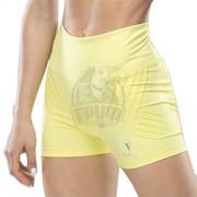 Шорты спортивные женские Fifty Sculptline (желтый)