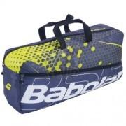 Сумка теннисная Babolat Duffle M Padel (серый/желтый)