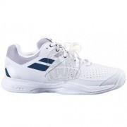 Кроссовки теннисные мужские Babolat Pulsion Clay (белый/синий)