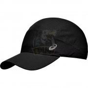 Бейсболка спортивная Asics Lightweight Running Cap (черный)