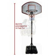 Стойка баскетбольная регулирeмая Fora