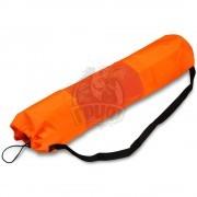 Чехол для коврика для йоги полусетчатый SM (оранжевый)