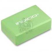 Блок для йоги Indigo (салатовый)